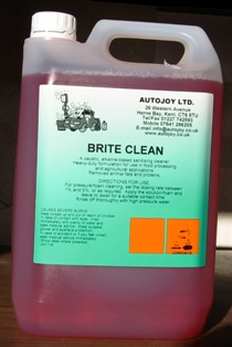 Autojoy Brite Clean (non acid wheel cleaner) 5 Litre